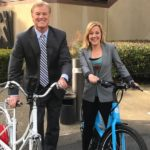 Jenn tries out E-Bikes for Earth Day (as seen on KTVU)