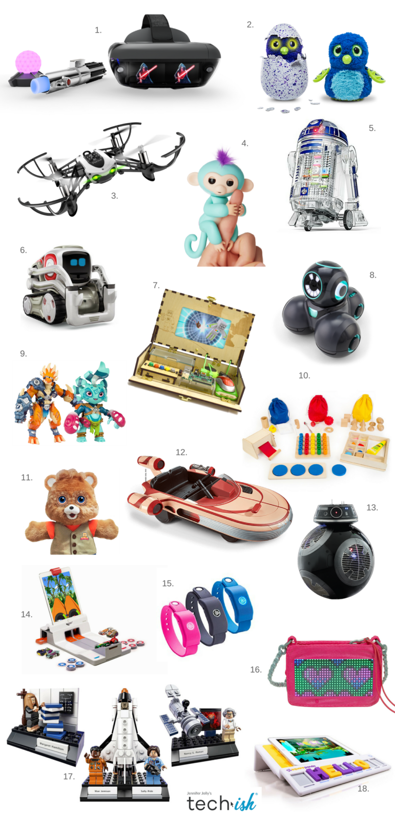 2017 Popular Toys : Gift guide best tech toys of